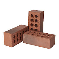 ITWB Smooth Red Weathered Facing brick (L)215mm (W)102.5mm (H)73mm