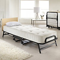 Jay-Be Crown Small single Foldable Guest bed with Deep sprung mattress