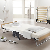 Jay-Be J-Bed Single Foldable Guest bed with Memory foam mattress