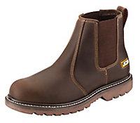 JCB Tan Agmaster Pro Dealer boots, Size 12