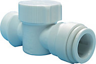 JG Speedfit Push-fit Washing machine Valve (Dia)15mm x ¾""