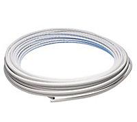 JG Speedfit White PE-X Push-fit Barrier pipe (L)25m (Dia)15mm