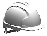 JSP White Evolite Safety helmet
