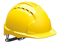 JSP Yellow Invincible® EVO®2 Safety helmet