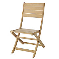 Kuantan Wooden Chair, Pack of 2