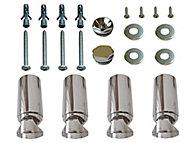 Kudox Radiator bracket (H)80mm (W)200mm
