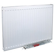 Kudox Type 11 Single Panel Radiator, White (W)1400mm (H)600mm
