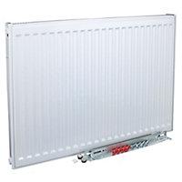 Kudox Type 11 Single Panel Radiator, White (W)1600mm (H)600mm 26.8kg