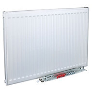 Kudox Type 11 Single Panel Radiator, White (W)400mm (H)600mm 6.7kg