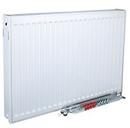 Kudox Type 22 Double Panel Radiator, White (W)600mm (H)500mm
