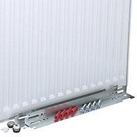 Kudox Type 22 Double Panel Radiator, White (W)600mm (H)700mm 22.4kg