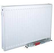 Kudox Type 22 Double Panel Radiator, White (W)800mm (H)600mm