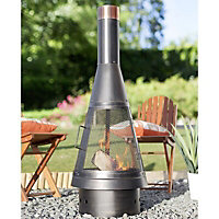 La Hacienda Colorado Steel Chiminea