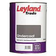 Leyland Trade Brilliant white Metal & wood Undercoat, 5