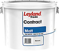 Leyland Trade Contract Mercury Matt Emulsion paint 10L