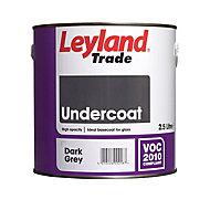 Leyland Trade Dark grey Metal & wood Primer & undercoat, 2.5