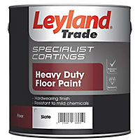 Leyland Trade Heavy duty Slate Satin Floor & tile paint, 2.5L