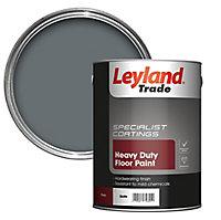 Leyland Trade Heavy duty Slate Satin Floor & tile paint, 5
