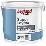 Leyland Trade Magnolia Matt Emulsion paint 15L