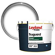Leyland Trade Pliolite Pure brilliant white Smooth Matt Masonry paint, 10L