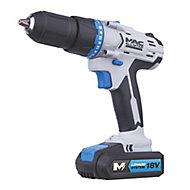 Mac Allister 18V 1.5Ah Li-ion Cordless Combi drill MSCD18-Li-2 - 2 batteries included