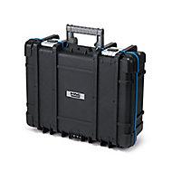 """Mac Allister 21"""" Plastic 9 compartment Technician's case"""