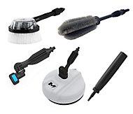 Mac Allister 5 piece Pressure washer attachment kit