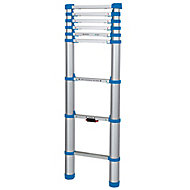 Mac Allister 8 tread Telescopic Ladder