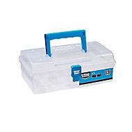 Mac Allister Small White 5 compartment Organiser