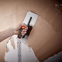 Magnusson Straight Plastering trowel (L)340mm (W)120mm