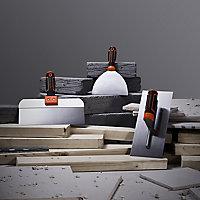 Magnusson Straight Plastering trowel (L)390mm (W)254mm, Set of 3