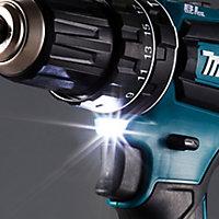 Makita LXT 18V 3Ah Li-ion Cordless Brushless Combi drill DHP485SFE