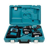 Makita LXT 18V 3Ah Li-ion Cordless Combi drill 2 batteries DHP453SFE