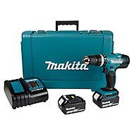 Makita LXT 18V 3Ah Li-ion Cordless Combi drill DHP453SFE