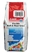 Mapei Flexible White Wall & floor Grout, 2.5kg