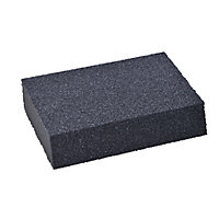 Medium/Coarse Angled sanding sponge (L)125mm (W)75mm