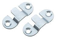 Mild steel Mirror screw, Pack of 4