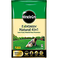 Miracle-Gro Natural feed Lawn fertiliser Granules 175m² 7kg