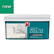 V33 Renovation Cotton Satin Wall tile & panelling paint 2L