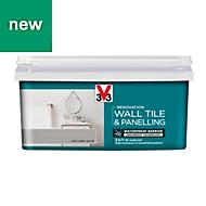 V33 Renovation Loft grey Satin Wall tile & panelling paint 2L
