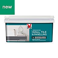 V33 Renovation Anthracite Satin Wall tile & panelling paint 2L