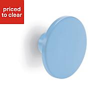 Form Darwin Blue Matt Internal Circular Handle (D)40 mm