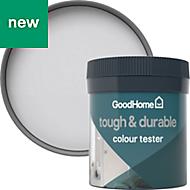 GoodHome Durable Whistler Matt Emulsion paint 0.05L Tester pot
