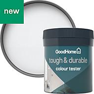 GoodHome Durable North pole Matt Emulsion paint 0.05L Tester pot