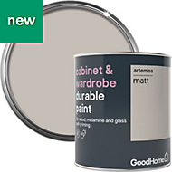GoodHome Durable Artemisa Matt Cabinet & wardrobe paint 750ml