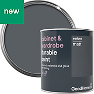 GoodHome Durable Sedona Matt Cabinet & wardrobe paint 750ml