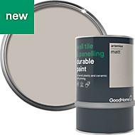 GoodHome Durable Artemisa Matt Wall tile & panelling paint 0.75L