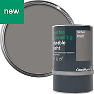 GoodHome Durable Fairfield Matt Wall tile & panelling paint 0.75L