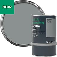 GoodHome Durable Delaware Matt Wall tile & panelling paint 0.75L