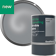 GoodHome Durable Beverly hills Metallic Wall tile & panelling paint 0.75L